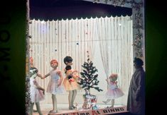 holiday shopping displays were the absolute corniest Deck The Halls, Christmas Shopping, 1960s, Christmas Windows, Christmas Decorations, Display, Architects, Holiday, Cute