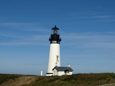 Light house in Newport Oregon