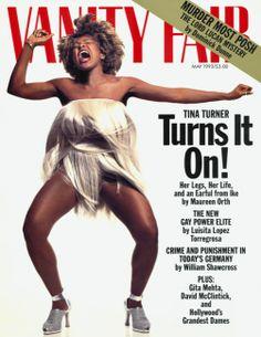 Vanity Fair May 1993 featuring Tina Turner
