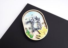 AT-AT Vacation Star Wars Necklace / Brooch by kateslittlestore