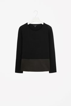 Leather panel top