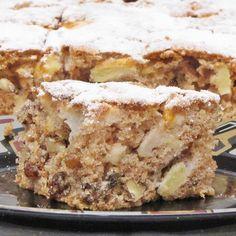 Kevert almás-diós süti - Mindmegette.hu