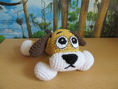 Crochet Dog, Russian site, picture only