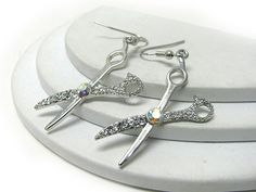 Scissor earrings. #Jerseylicious #Inspiration