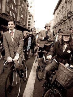 Tweed Run. London.