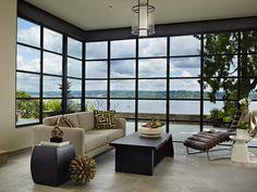Tudor home with a modern twist on Lake Washington