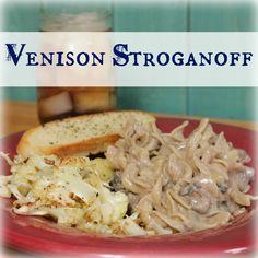 The Best Venison Stroganoff Recipe EVER | My Wild Kitchen - Your destination for wild recipes