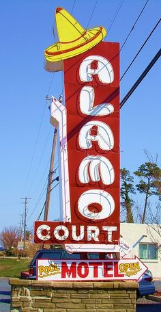 Alamo Court Motel - Ocean City, Maryland.