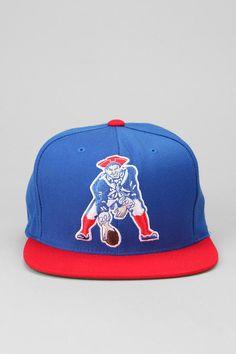 9edf9f45159 Mitchell   Ness Patriots XL Logo Hat