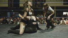 Women Wrestling - Nicole Savoy vs Kikyo Nakamura w  ref Molly Holly #441