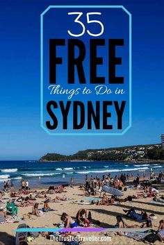 Chill on one of Sydney's best beaches, Manly Beach - 35 Free Things to Do in Sydney