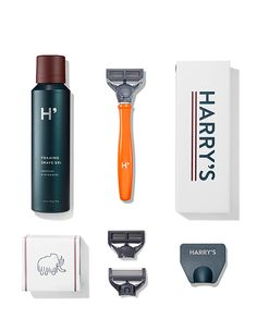 Yay!!! Just received our first order and dear hubby was thoroughly impressed with the quality!!!! The blade got a real test with his first shave!!! Harry's blades are made in Germany - with very affordable plans and free shipping right to your door, we're sold!