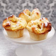 Fika, I Want To Eat, Some Recipe, Piece Of Cakes, Cake Recipes, Bakery, Muffin, Goodies, Food And Drink