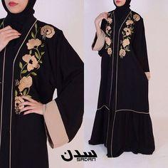 Burqa Designs, Abaya Designs, Hijab Gown, Hijab Outfit, Islamic Fashion, Muslim Fashion, New Abaya Style, Pakistani Outfits, Pakistani Clothing