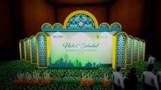Desain Panggung Halal Bi Halal  Acara Halal Bi Halal datang bersamaan dengan datangnya Idul Fitri, biasanya perusahaan banyak mengadakan acara Halal Bi Halal setelah libur …