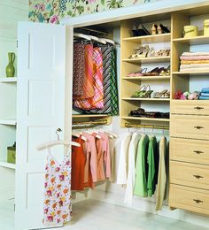Small Closet Makeovers Design, Pictures, Remodel, Decor and Ideas - page 28