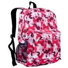 Wildkin Camo Pink Crackerjack Backpack