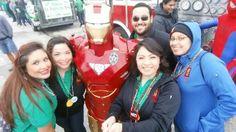 Team Eberstein & Witherite with IronMan #1800StPattysParade