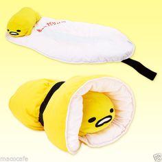 Gudetama-Nap-Mat-Pillow-Plush-Cute-Egg-Character-Kawaii-SANRIO-from-JAPAN pllllleeeeeeeeeaaaaaaaassssssse mom. Kawaii Plush, Kawaii Cute, Kawaii Style, Cute Egg, Pokemon, Cute Japanese, Sanrio Characters, Rilakkuma, Totoro