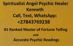 Past & Future Readings, Call, WhatsApp: Love Fortune Teller, Psychic Love Reading, Phone Psychic, Are Psychics Real, Love Spell Caster, Money Spells, Free Psychic, Psychic Mediums, Career Success