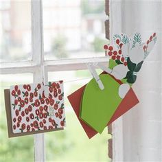 MOMA Winter Flowers Christmas Cards Box of 8 | Designers Guild