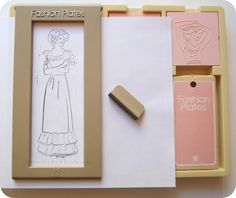 Serendipity Handmade: Fortunate Finds: the Original Fashion Plates by Tomy