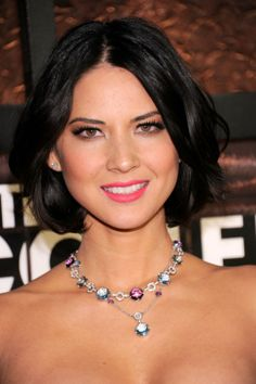 Future Hair,now that I chopped mine off.Olivia Munn Center Part Bob Haircut