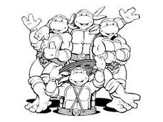 Kleurplaten Turtles Ninja.32 Best Ninja Turtle Coloring Pages Images Ninja Turtle Coloring