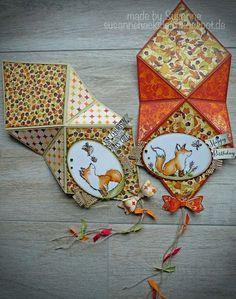 Stempeleinmaleins: Drachen-Karte / Kite Card