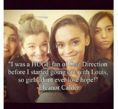 Reminder, Eleanor was just a fan too! And I will NEVER lose hope <3
