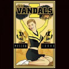 Vandal Cheerleader