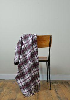 Classic Cashmere Blanket in Macduff Dress Tartan  | The Tartan Blanket Co.