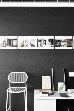 Studio Nine Office Office Desk, Magazine Rack, Photo Wall, Cabinet, Studio, Storage, Architects, Projects, Furniture