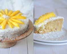Veganer Mango-Kokos-Kuchen – Lixie´s Saisonkalender