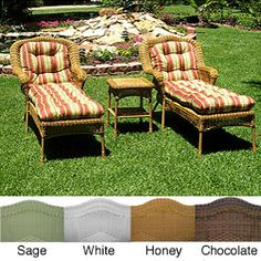 @Overstock - This three-piece outdoor chaise lounge set is a perfect addition to any outdoor or patio setting. This set includes two chairs and a table with a durable powder-coated steel frame and the stylish touch of resin wicker weave. http://www.overstock.com/Home-Garden/Resin-Wicker-Outdoor-3-piece-Chaise-Lounge-Set/5983085/product.html?CID=214117 $799.00
