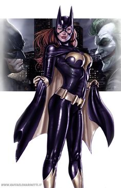 Amazing Batgirl although her breasts look like super implants for the super-heroine on the go! Marvel Dc Comics, Heros Comics, Comics Anime, Dc Comics Art, Comics Girls, Dc Heroes, Comic Superheroes, Marvel Avengers, Comic Book Characters