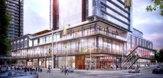 downtown Toronto master planned real estate development by Cityzen, Fernbrook and Diamondcorp