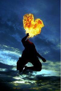 Heart on fire    via blackmetal