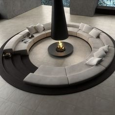 love a good conversation pit...lol