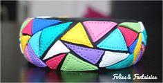 Polymer clay Bangle Folies & Fantaisies