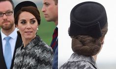 The Duchess of Cambridge set to spark a new trend for HAIRNETS