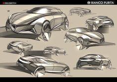 Alfa Romeo Bianco Purita by Jaemin Park, via Behance