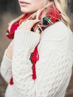 Winter engagement ideas via Wedding Sparrow