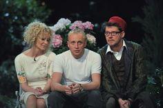 Beata Ścibakówna, Piotr Adamczyk i Wojciech Malajkat – odtwórcy głównych ról (fot. Jan Bogacz)