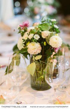 Fresh table flowers   Photographer: Ashley Ludaesher Photograpy