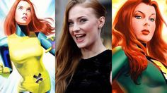 "Sophie Turner Says She'll Put A ""Little Twist"" On 'Jean Grey' For X-MEN: APOCALYPSE http://cinechew.com/sophie-turner-says-shell-put-little-twist-jean-grey-x-men-apocalypse/"