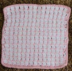 Angel Baby Blanket -free crochet pattern