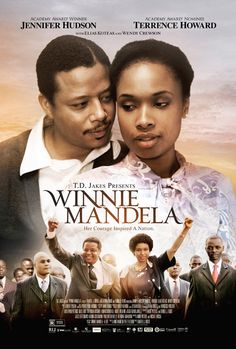 Winnie Mandela - Movie Poster - Jennifer Hudson and Terrence Howard