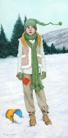 Snow Castles, Fred Calleri