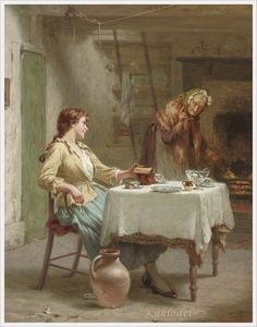 Edwin Thomas Roberts (British, 1840-1917) «On the boil